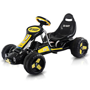 Go Kart Kids Ride On Car Pedal Powered Car 4 Wheel Racer Outdoor Toy kids Gifts