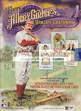 2013 TOPPS ALLEN & GINTER BASEBALL MLB FACTORY SEALED HOBBY BOX NEW EXPRESS POST