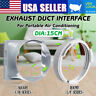 5.9''Dia Window Exhaust Duct Adapter L/F&C/H Series For Portable Air Conditioner