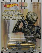 1964 64 GMC PANEL STAR WARS TRUCK GOLD BOUNTY HUNTER 4 LOM ROD HW HOT WHEELS