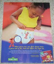 2003 ad page -Pampers Easy Ups diaper Baby Training Pants Girl PRINT ADVERTISING