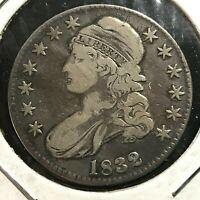 1832  BUST HALF SILVER DOLLAR SCARCE COIN