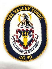 "USS Valley Forge CG 50 Patches (4"" x 3 1/8"" and 2 5/8"" x 2"") Badges"