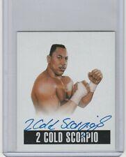 2014 Leaf Wrestling 2 Cold Scorpio Auto Card ECW WWE WWF