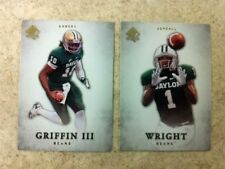 Robert Griffin III/Kendall Wright 2-Card Rookie 2012 SP Authentic Baylor Bears