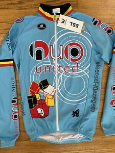New! Vermarc Men's WindTex ES.L Cycling Jersey Long Sleeve Made Belgium Size XS