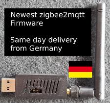 CC2531 ZigBee USB Stick zigbee2mqtt ioBroker  FHEM Xiaomi  mit Firmware Antenne
