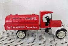 Coca Cola Die Cast Delivery Tanker Kenworth Truck Metal Bank Licensed by Coke