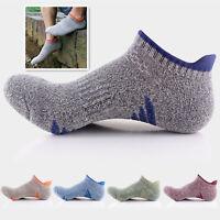 5pairs Men's Quick Dry Ankle Socks Cotton Riding Skating Sport Sock Multi-Type