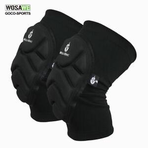 1 Pair Knee Pads Race MTB Bike BMX Pads Protective Gear Leg Guards Joint Support