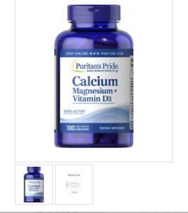Putitan's Pride Calcium Magnesium Vitamin D3 Bone Active 100 r.r. capsules