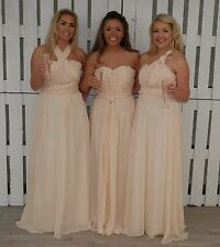 Chiffon Convertible Bridesmaid Dress Multi Way Infinity Multi Wear Prom Long