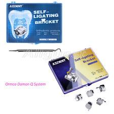 Dental Orthodontic Self Ligating Brackets Braces Roth Mbt022 Hooks 345 Azdent