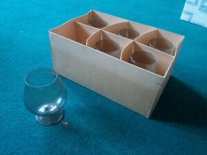 !!! Gläser Konjakglas schnapsglas Likörglas 6er Set - LESEN !!!