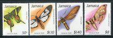 Jamaika Jamaica 1991 Nachtfalter Moths Insekten Insects 770-773 Postfrisch MNH