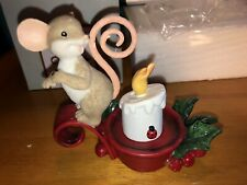 """Charming Tails """"Nothing Like A Warm Christmas Tail """" Dean Griff Nib Lights up"""