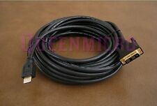 20FT HD HDMI 1.4 to DVI 1080P Shielded Gold Cable DVD TV LCD PC Laptop Projector