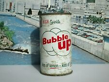 NICE BUBBLE UP FLAT TOP SODA CAN