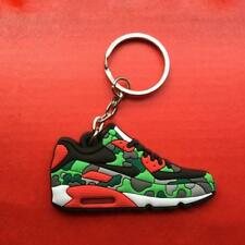 Camo Basketball Sneaker Shoe Keychain Keyring Gift