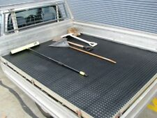 Rubber Trayback Perforated Ute Matting sold by the metre