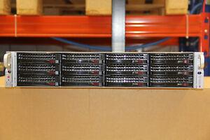 Supermicro SC 826 / 2U / 12Bay / 826BE16-R920LPB / Server Gehäuse SAS6GBs Exp.