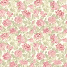 MODA 3 Sisters favourites Pink Cream Large Floral 3725-11 100% Cotton Fabric