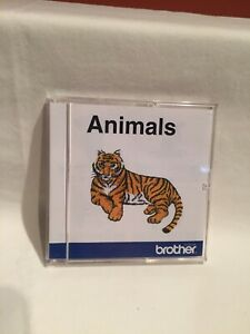 ANIMALS - BROTHER Embroidery Card also for Bernina Deco, Baby Lock