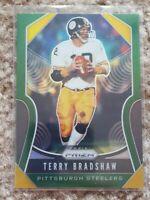 2019 Panini Prizm Terry Bradshaw  Green SSP Pittsburgh Steelers #286