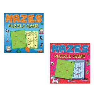 2 x CHILDREN'S KIDS MAZE PUZZLE ACTIVITY FUN BOOKS GAME BOOK