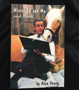 Alan Young Mister Ed and Me and More ! Book SIGNED with Photo COA Mint Condition