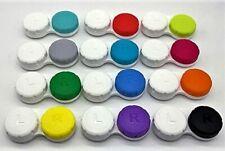 Play-Tec Premium Quality Contact Lenses Case12 Colours New Design, Leakage Proof