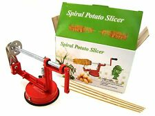 Manual Spiral Potato Slicer, Stainless Steel,Peel The Whole Potato& Make Chips
