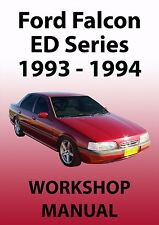FORD FALCON ED Series WORKSHOP MANUAL: 1993-1994