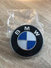 BMW 74mm Rear Blue Boot Emblem Badge 51148132375 - E46 E36 E90 E60 E83 E92 M3 M5