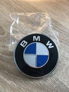 BMW 82mm Front Or Rear Blue Boot Emblem Badge 51148132375 - E46 E36 E90 E83 E92