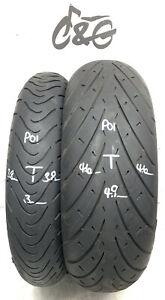 Metzeler Roadtec 01  120/70zr17 & 190/50zr17  Pair Part Worn Tyres P01