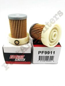 KUBOTA 6A320-59930 FUEL FILTER  REPLACEMENT , PF9911  (2 Pack)