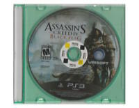 *PS3 Assassin's Creed 4 IV Black Flag Disc Only in jewel case free DVD movie*