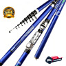 Carbon Fiber Spinning Fishing Rod Power Telescopic Rock Ultra  Carp Feeder Surf
