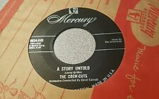 Crew Cuts, The  – A Story Untold / Carmen's Boogie ~ (VG+)