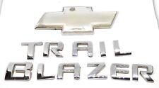 05-09 Chevrolet Trailblazer Rear Lift Gate Trunk Emblem Badge Symbol Bowtie SET