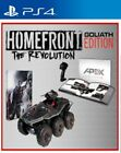 HOMEFRONT THE REVOLUTION GOLIATH COLLECTOR'S EDITION PS4 NEW SEALED