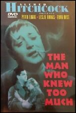 The Man Who Knew Too Much DVD 1934 Alfred Hitchcock Peter Lorre Leslie Banks OOP