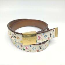 Louis Vuitton Belt  Ceinture Carre Monogram Goldtone 912145