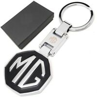 MG solid metal keyring key ring fob chain box gift ideas for him her birthday
