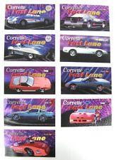 Corvette Heritage Collection - 9 Card Corvette Fast Lane Subset - New 1996