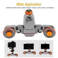 YELANGU L4X Electric Auto dolly Video Car Motorized Track Slider Skater f Camera