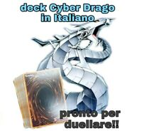 Yu Gi Oh! Mazzo Completo Ready to Play - Deck CYBER DRAGO 40 Carte ITALIANO