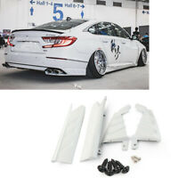 AKASAKA Rear Bumper Side Moulding Cover Trim For Honda Accord 2018-2020 White
