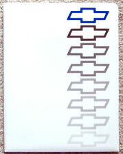 PRESS KIT ~ 1996 CHEVROLET ~ CAMARO ~ LUMINA ~ CAVALIER ~ BLAZER